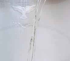 Toalha de Batismo Espírito Santo