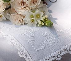 Lenço de Casamento Edelweiss