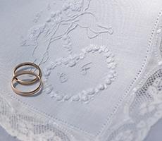 Lenço de Casamento Rococó