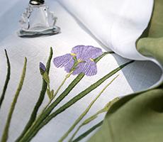 Toalha de mão Iris